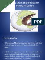 Conflictos socio ambientales por contaminación Minera