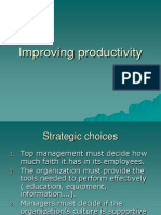 Improving Productivity 1234