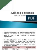 Cables de Potencia