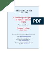 Itineraire Philo Blondel