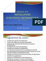 Installation Dun Poste Informatique