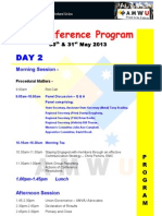 state conference agenda day 2