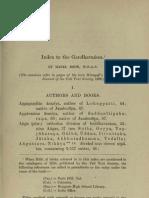 Bode - Index to Gandhavamsa JPTS 1896small
