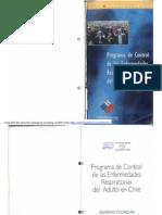 Programa de Control de Las Enfermedades Respiratorias Del Adulto en Chile ERA - MINSAL