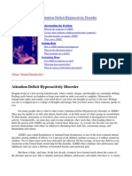 (Psychology, Self-Help) Nimh - Attention Deficit Hyperactivity Disorder (Adhd)