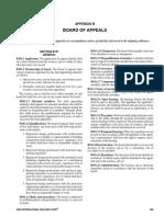 Appendix B Board of Appeals - 2009 International Building Code