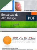 Dr. Calderon -Embarazo de Alto Riesgo