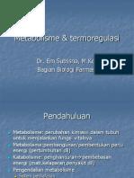 Metabolisme & termoregulasi
