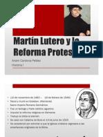 Unidad 8 Martin Lutero - Ariam Cardona