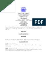 City Council Agenda December 20, 2011