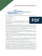 Sunarp.reglamento de Inscripciones Del Registro de Predios