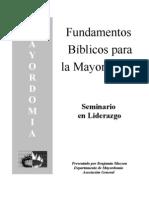 Fundamentos  Bíblicos para la Mayordomía DOC.doc