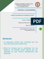 Factores Que Determinan El Desarrollo Humano (2)