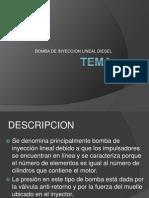 3. Bomba de Inyeccion Lineal
