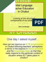 Initial Language Teacher Education