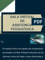 SALA VIRTUAL DE ASISTENCIA PEDAGÓGICA