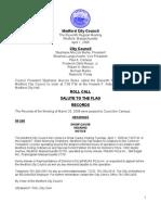 City Council Agenda April 1, 2008