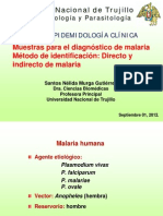 Malaria Dx 010912 SNMG