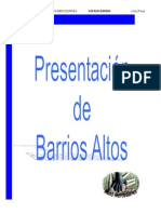 Mercedarios Barrios Altos