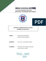 Informe Final de Proyecto Microprocesador