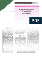 PAPILOMATOSIS FARINGEA