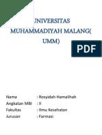 Alumni Mbi Malang