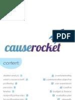Causerocket Plans Book