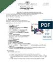 ELA Gr7 Study Guide Final Exam 2013