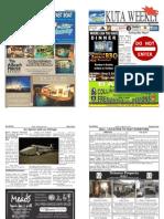 "Kuta Weekly-Edition 337 ""Bali's Premier Weekly Newspaper"""