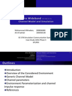 UWB Channel Model and Simulation