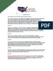 Homeland Crisis Institute Training Overview