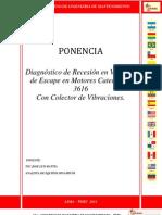 50320215963 Diagnostico de Recesion en Valvulas de Escape Cat-3616 - Ponencia Peru