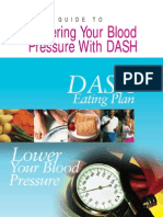 DASH diet (NHI) - prevent and control hypertension