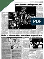 Orange County Register September 1, 1985 The Night Stalker, Richard Ramirez, caught in East Los Angeles – page 2 of 5