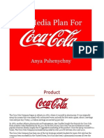Coca Cola Media Plan