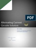 Alternating Current Circuit Solution Manual-Corcoran