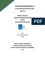 Format Laporan Pendahuluan Modul 2 APS