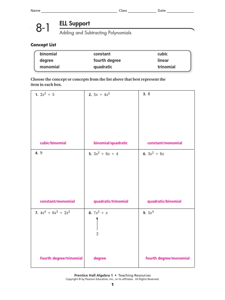 Prentice Hall Inc Science Worksheet Answers Free Worksheets ...