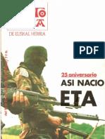 Punto y Hora, nº 357, 1984 - Así nació ETA