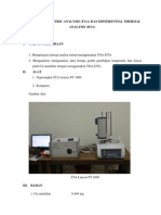 Thermogravimetric Analysis (1)