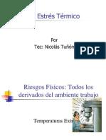 Riesgos Físicos Estrès Tèrmico