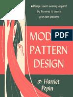 Harriet Pepin Modern Pattern Design