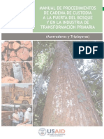 4d83d4e985913 Manual de Procedimientos de Cadena de Custodia a La Puerta
