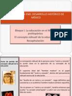 Presentación el concepto náhuatl de la educación