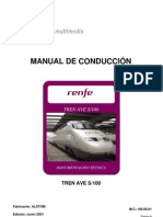 Manual de Conduccion Del Tren S-100. 06-01
