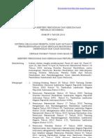 Permendikbud No 3 Tahun 2013 Tentang UN 2013