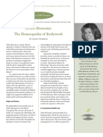 Ortho-Bionomy - The Homeopathy of Bodywork