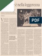 La morale è nella leggerezza, di Umberto Eco - Domenica 26.05.2013