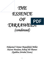 The Essence of Taraaweeh - Moulana Ashraf Ali Thanwi