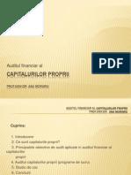 Auditul Surselor de Finantare Proprii